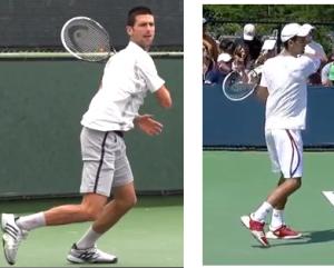 coup droit tennis relâchement