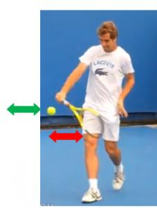 revers tennis une main mise à niveau