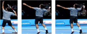 Boucle de liaison smash Federer