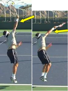 Service au tennis