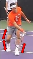 Volee CD Federer Centre de gravite
