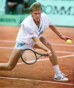 volée au tennis edberg