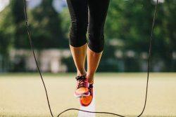 corde à sauter tennis