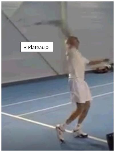 Conseil tennis service plateau