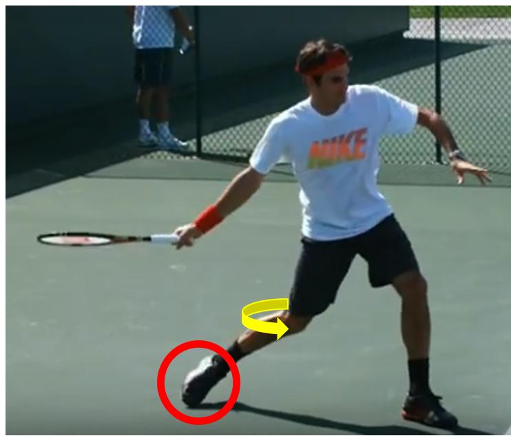 mieux jouer au tennis genou