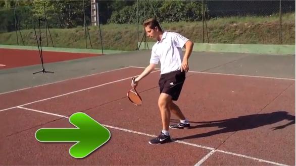 Comment lifter au tennis faciliter position