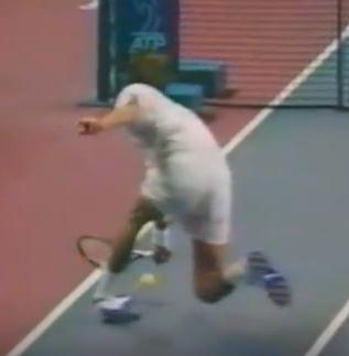 maladie du tennisman entorse
