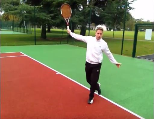 Revers tennis exercice précision seuil