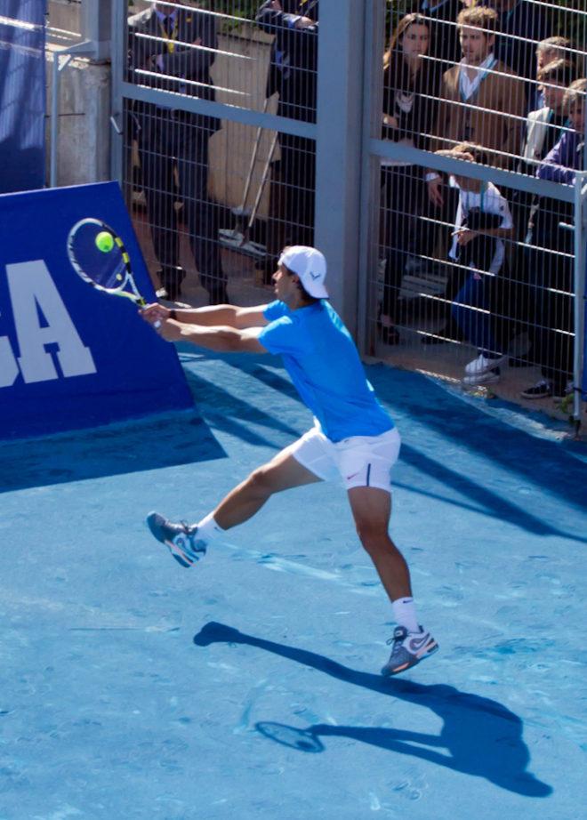 séance tennis