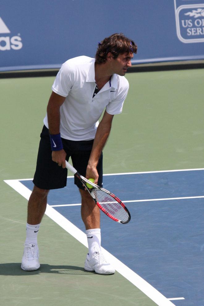 prise service tennis